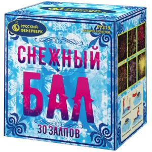 """Фейерверк Р7319 Снежный бал (0,8"""" х 30)"""