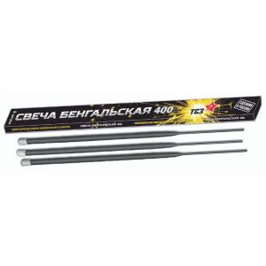 Бенгальские свечи 400мм (ТСЗ) ТР151 (упаковка 3 шт.)