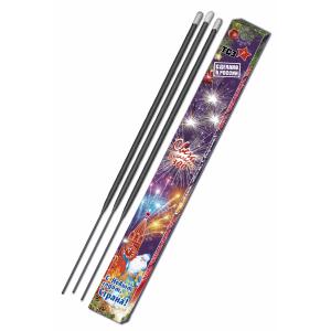 Бенгальские свечи 300мм (ТСЗ) ТР169 (упаковка 3 шт. прямоугольная)