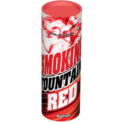 Дымовой фонтан - цветной дым красный MA0509/R (Maxsem)