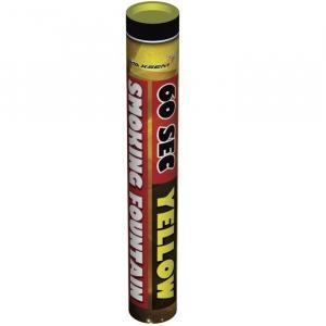 Цветной дым Smoking Fountain MA0512/Yellow (60 сек.)