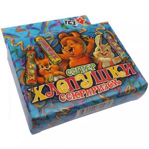 """Супер хлопушка ТР107 """"Детская"""" 100мм конфетти, сюрприз"""